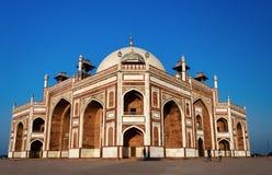 Humayun ` s grobowiec w New Delhi, India obrazy royalty free