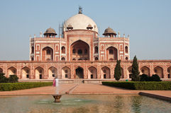 Humayun's Tomb. In New Delhi, India Royalty Free Stock Photos