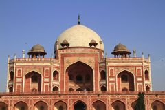 Humayun's Tomb Royalty Free Stock Photo