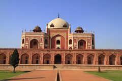 Humayun's Tomb Royalty Free Stock Photography