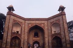 Humayun's Tomb. Gate to Humayun's Tomb at New Delhi Royalty Free Stock Photography