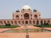 Humayun's Tomb Stock Photography