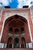 Humayun`s Tomb arches, Delhi, India. Stock Photography