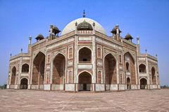 Humayun's Tomb in Delhi Stock Photos