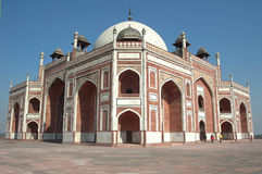 Humayun's tomb,delhi. The tomb was built as a memorial for emperor humayun.this is an example of early moghul architecture Royalty Free Stock Photography
