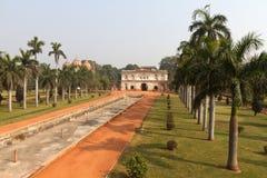 Humayun's Tomb. Delhi during dry season, India royalty free stock image