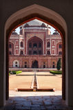Humayun's Tomb. Delhi, India Stock Image