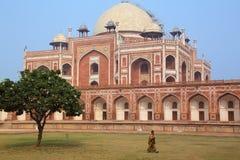 Humayun's Tomb in Delhi, India Royalty Free Stock Photo