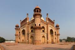 Humayun's Tomb. During dry season, Delhi, India royalty free stock photo