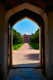 Humayun's Tomb. Delhi, India Royalty Free Stock Photos