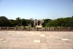 Humayun`s Tomb in India Stock Image