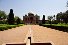 Humayun`s Tomb in India Royalty Free Stock Photos