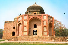 Humayun's Tomb in New Delhi Stock Photography