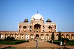 Humayun's Tomb, New Delhi Stock Image
