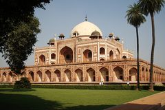 Humayun's Tomb, New Delhi Stock Photos