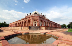 Humayun's Tomb New Delhi tourist destination Royalty Free Stock Photography