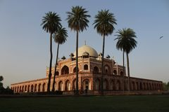 Humayun Tomb foto de stock royalty free