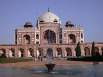 Humayun tomb. Mughal history royalty free stock photo