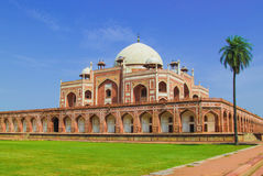 Humayun tomb full view Royalty Free Stock Images