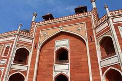 Humayun Tomb in New Delhi. Stock Photo