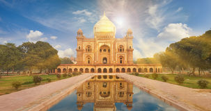 Humayun Tomb New Delhi, Inde Image stock