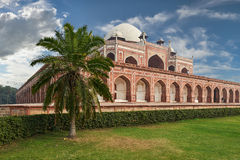 Humayun Tomb New Delhi Indien arkivbilder