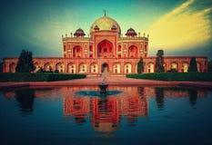 Humayun& x27; tomba di s | tomba Nuova Delhi dei humayuns immagine stock libera da diritti