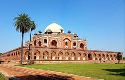 Humayun& x27; tomba di s, Delhi India Fotografie Stock Libere da Diritti