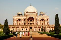Humayuns Grab in Delhi, Indien Stockfotos