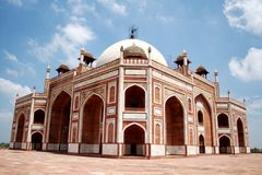 Humayuns Grab, Neu-Delhi Lizenzfreies Stockbild