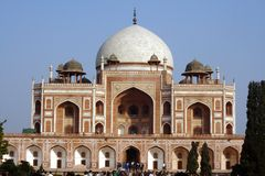 Humayuns Grab, Neu-Delhi Lizenzfreie Stockfotografie