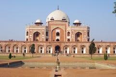 Humayuns gravvalv i New Delhi Fotografering för Bildbyråer