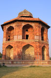 Humayuns privat arkiv, Purana Qila, New Delhi, Indien Royaltyfri Bild