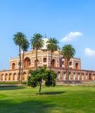 Humayuns Tomb fotografering för bildbyråer