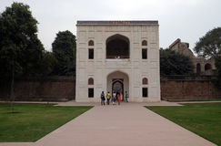 Humayuns tomb entrance Darwaza, Delhi Royalty Free Stock Photos