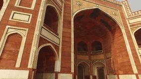 Humayuns tomb - India stock video footage