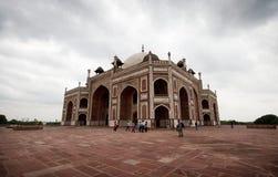 Humayuns tomb.  India,. Humayuns tomb. New Delhi, India Royalty Free Stock Images