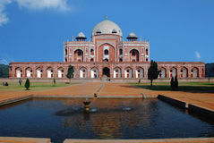 Humayun's Tomb in Interpretation Centre. Stock Photos
