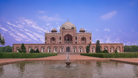 Humayuns Tomb Stock Photo
