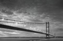 Humber桥梁 免版税库存图片