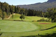 Humber谷,纽芬兰高尔夫球手段 库存图片