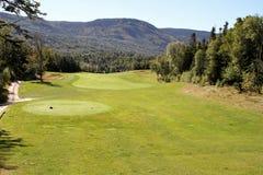 Humber谷,纽芬兰高尔夫球手段 库存照片