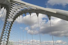 humber моста залива Стоковая Фотография