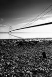 humber моста Стоковое Изображение RF