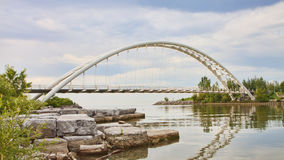 Humber Bay Bridge Royalty Free Stock Photos