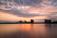 Humber Bay at Sunset Stock Image