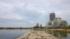 Humber Bay Waterfront Buildings Royalty Free Stock Photo