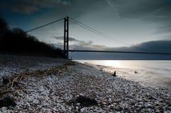 Humber Brücke Lizenzfreie Stockfotos