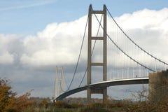 Humber-Brücke, Kingston nach Rumpf stockfoto