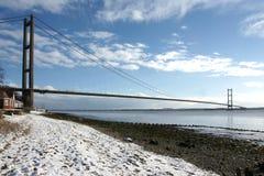 Humber-Brücke, Kingston nach Rumpf lizenzfreie stockfotos